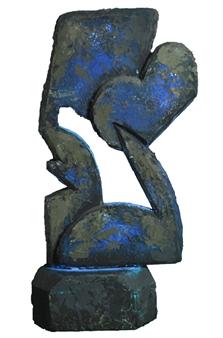 Daniel L. Randolph - Sculpture 16 Marble, Sculpture