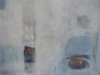 Laura Menzies - The Sea Within Oil on Board, Paintings