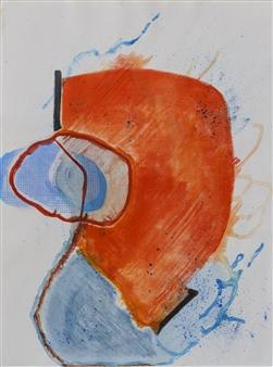 Donna Broder - Chrysalis #1 Monotype on Fine Art Paper, Prints