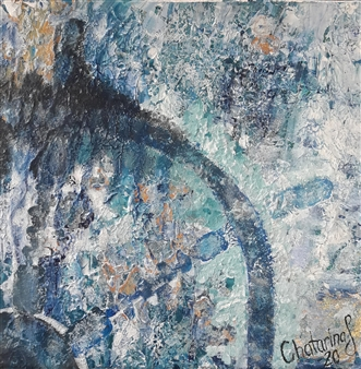 Chatarina Salomonsson - Hide in Bermuda Acrylic on Canvas, Paintings