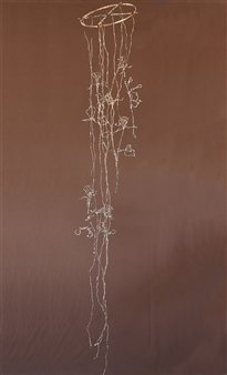 Vincent Donato - Untitled sculpture Annealed steel wire, plaster, Sculpture