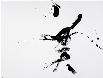 Hiroshi Wada (和田 浩志) - BEAUTY_02 Japanese Calligraphy on Paper, Paintings
