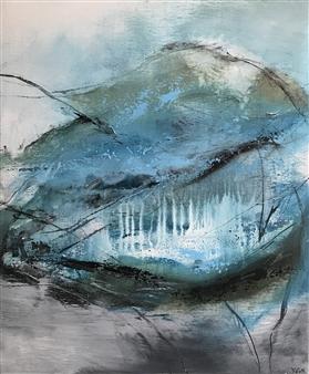 Katja Yoon - Secret World Acrylic on Canvas, Paintings
