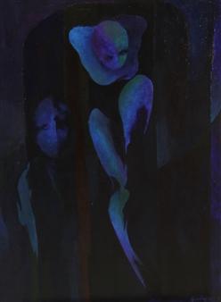 Larry Greenberg - Opus 431 Oil on Canvas, Paintings