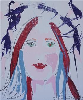 G Corona - Ask Acrylic on Canvas, Paintings