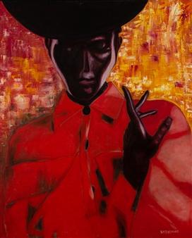 Britt-Marie Tidemand - Still Oil on Canvas, Paintings