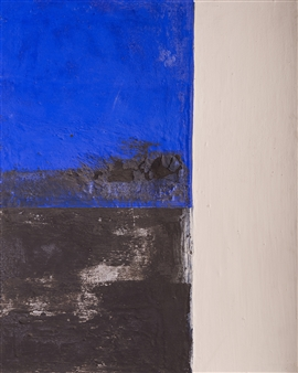 Israel Feldmann - Twins 2 Pigment on Plywood, Paintings