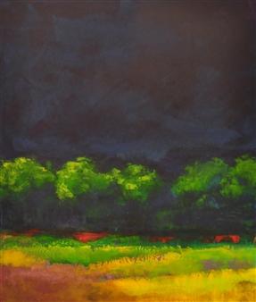 Pia Sjölin - After the Storm Acrylic on Aluminum, Paintings