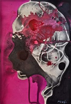 Jon Kraja - My Shade 201 Acrylic on Board, Paintings