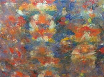 Maribel Matthews - Spring Oil on Canvas, Paintings