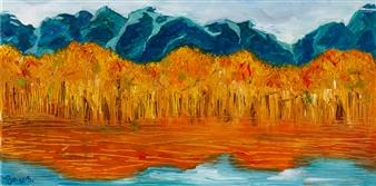 Bo Song - Autumn Season Oil on Canvas, Paintings