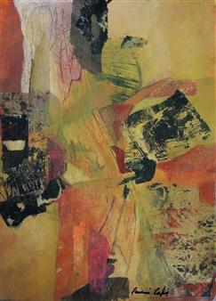 Pauline Rakis - Kimono Acrylic on Canvas, Paintings