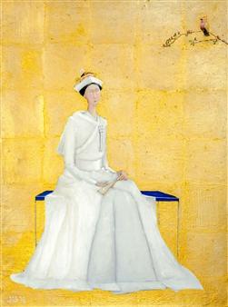 Jorge Garcia-Sainz - Japanese Bride Oil on Canvas, Paintings