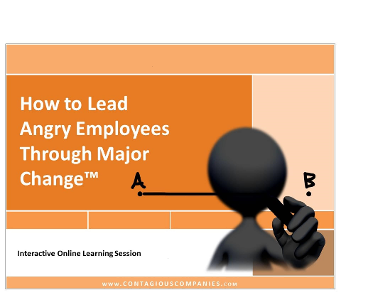 How to Lead Angry Employees Through Major Change™