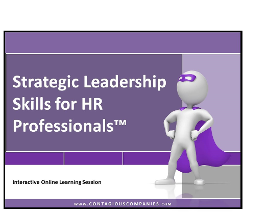 Strategic Leadership Skills for Human Resource Professionals