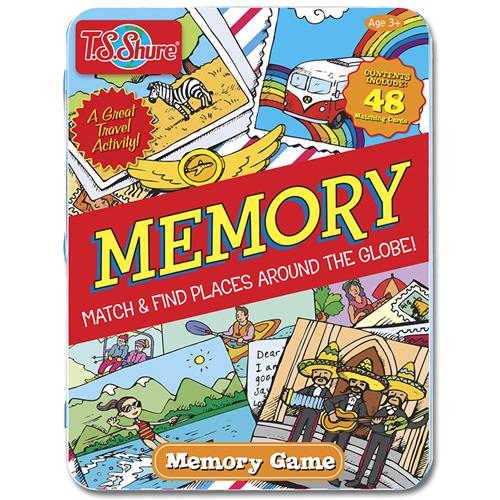 Memoria game tin