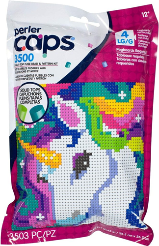 Caps Pattern Bag Unicornio