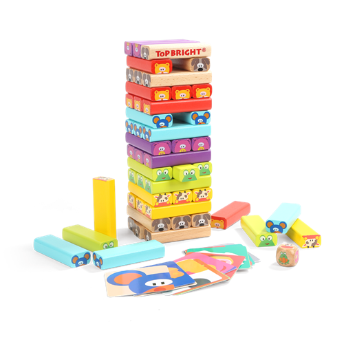 STACKING GAME FUNNY ANIMAL FRIENDS