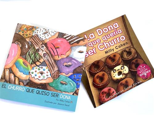 LA DONA Y EL CHURRO (2 LIBROS)