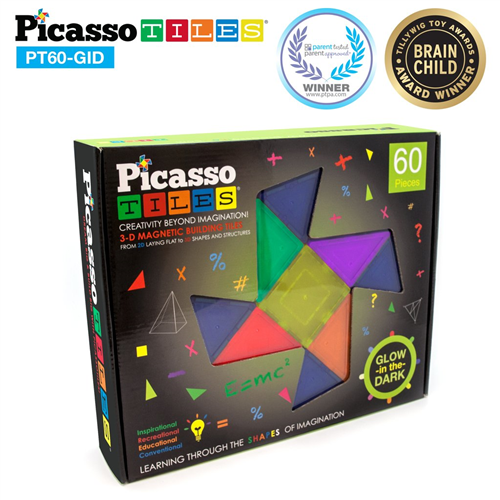 PICASSO TILES 60 PZ GLOW IN THE DARK