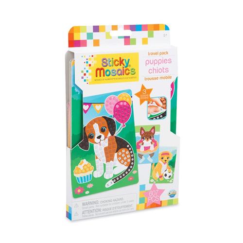 Sticky Mosaics Travel Pack Puppies