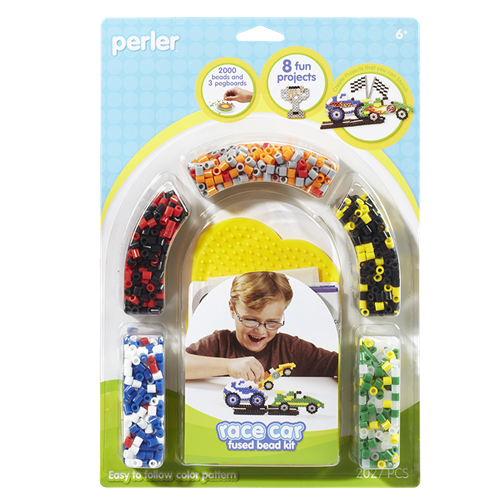 Race Car Fused Bead Kit