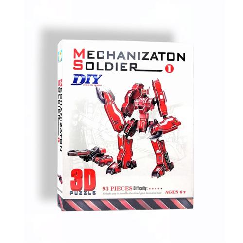 MECHANIZTON SOLDIER PUZZLE 3D