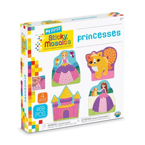 My First Sticky Mosaics Princesses
