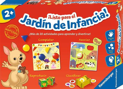 LISTO PARA EL JARDIN DE INFANCIA