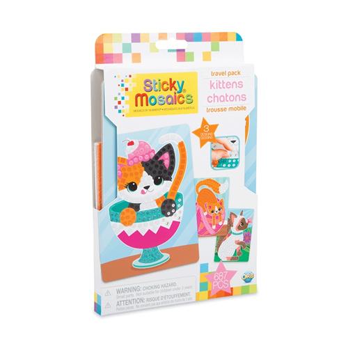 Sticky Mosaics Travel Pack Kittens