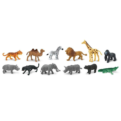 SAFARI BULK BAGS-JUNGLE ANIMALS 761004