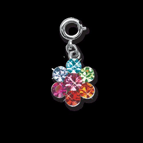 Rainbow Daisy Charm