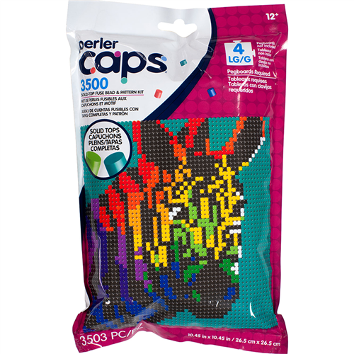Caps Pattern Bag Zebra
