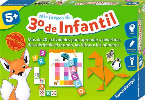 MIS JUEGOS DE 3RO DE INFANTIL