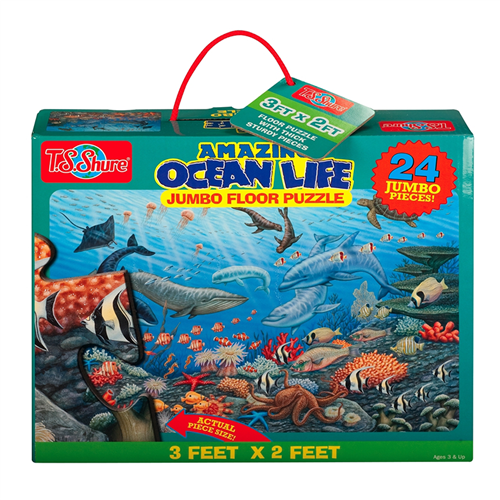 Puzzle Fun on the go ocean life