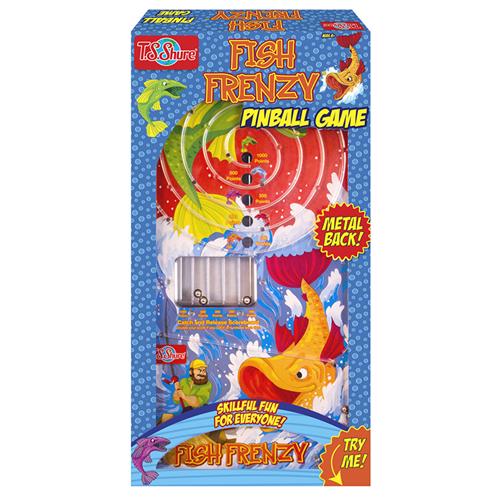 Fish Frenzy Pinball Game