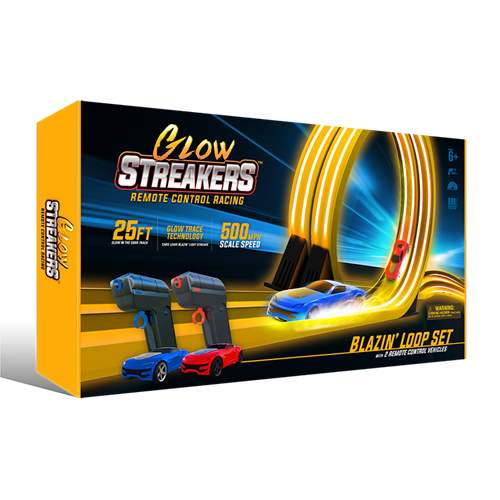 Glow  Streakes RC loop Set (pista de coches)