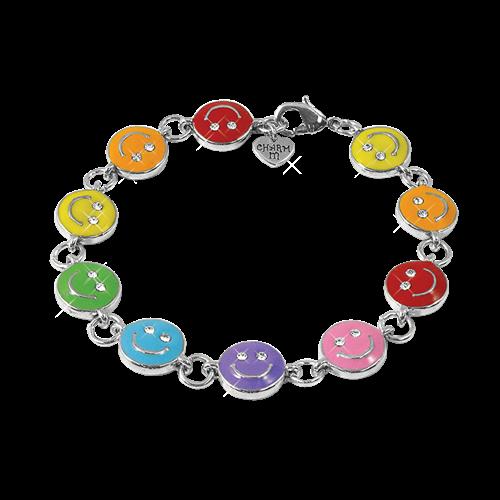 Rainbow smiley Bracelet