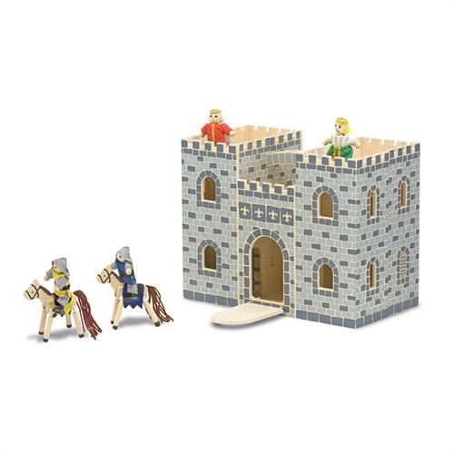 Castillo plegable y portatil gris