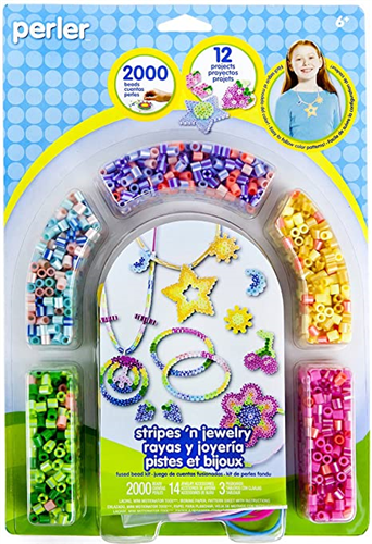 Stripes N Jewerly Fused bead kit