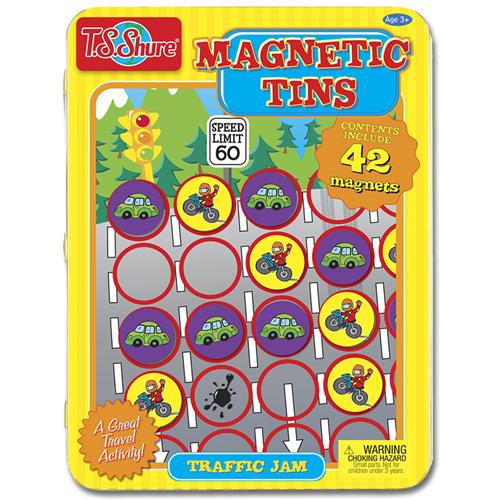 Traffic Jam Magnetic Tins