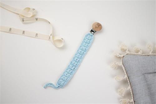 clip crochet azul cielo