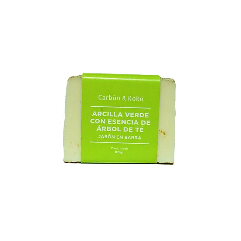 Jabon Artesanal Arcilla Verde