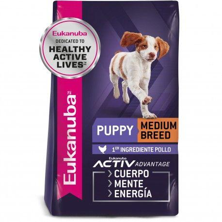 Eukanuba Puppy Medium Breed hasta 12 meses 2.27 kg