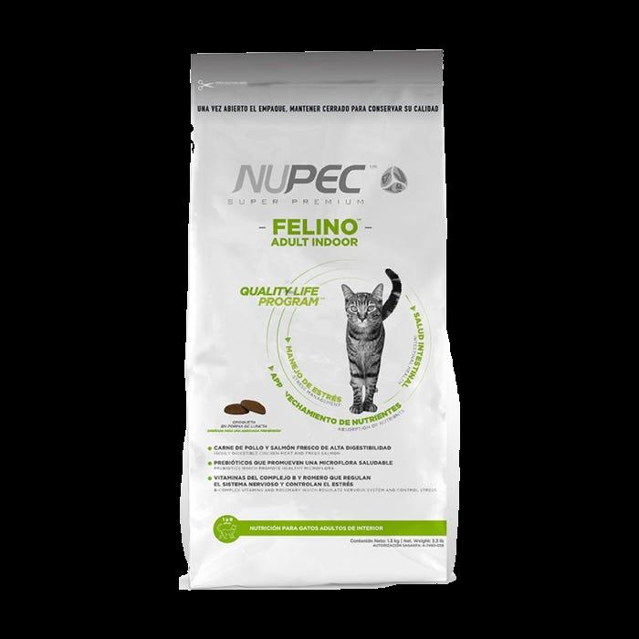 NUPEC Felino Adulto Indoor 3kg