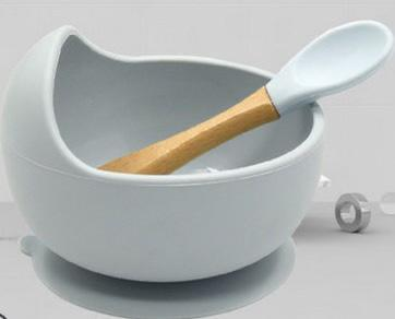 Bowl de silicón con cuchara