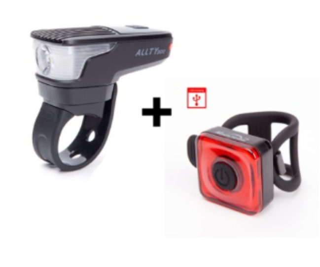 COMBO LAMPARAS DEL/TRASERA USB