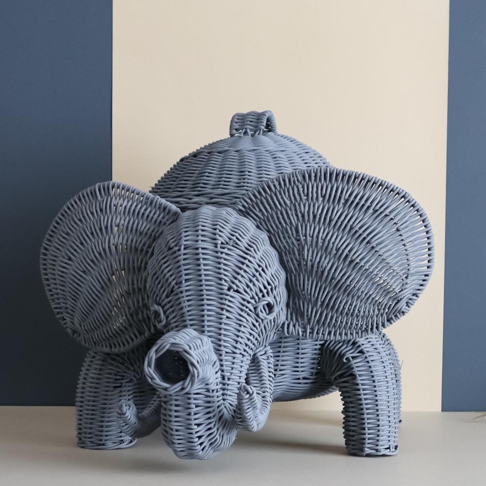 Elefante Juguetero Gris