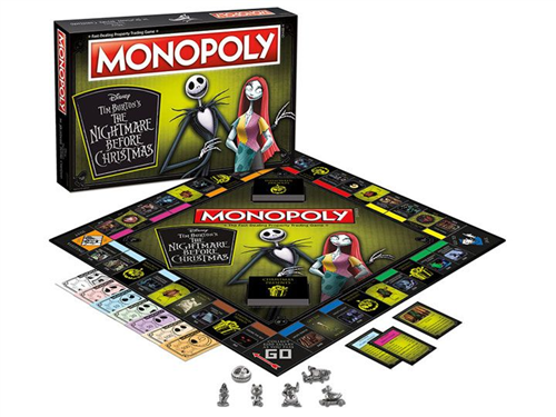 Monopoly Jack Skellington