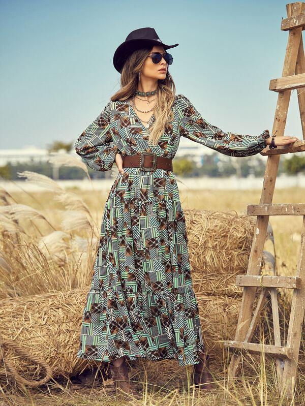 Stamped Dress